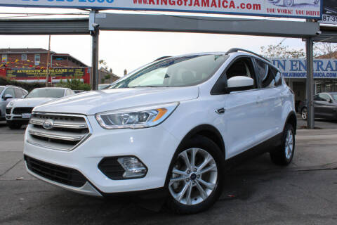 2018 Ford Escape for sale at MIKEY AUTO INC in Hollis NY