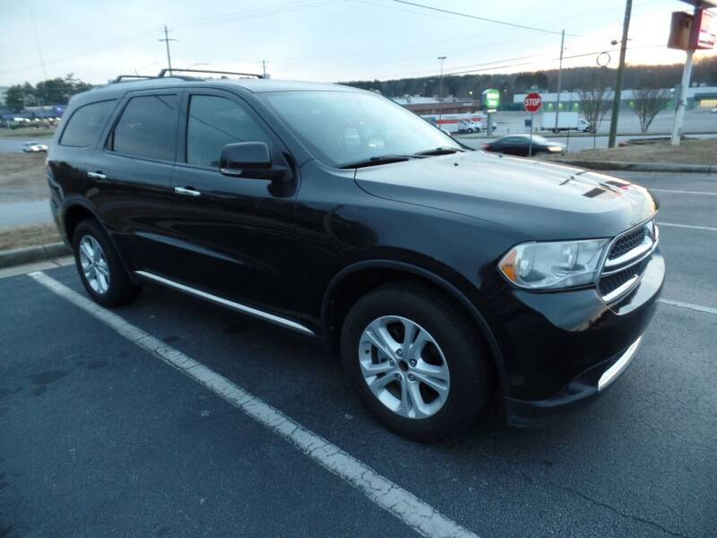 2013 Dodge Durango for sale at United Automotive Group in Griffin GA