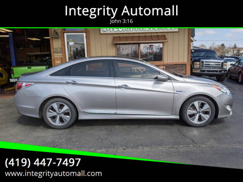 2012 Hyundai Sonata Hybrid for sale at Integrity Automall in Tiffin OH