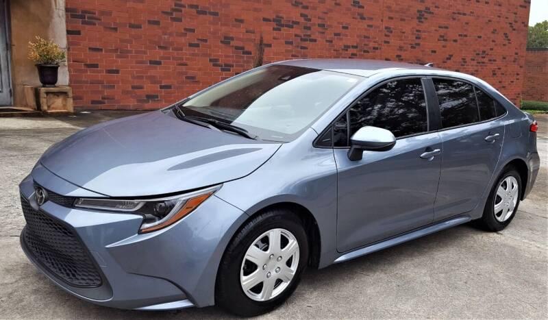 2020 Toyota Corolla for sale at memar auto sales, inc. in Marietta GA