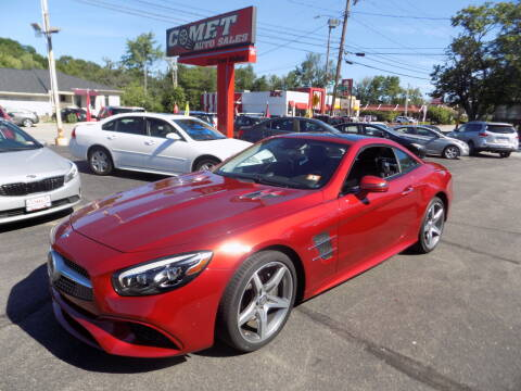 2017 Mercedes-Benz SL-Class for sale at Comet Auto Sales in Manchester NH