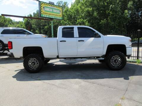 2016 Chevrolet Silverado 1500 for sale at Garcia Trucks Auto Sales Inc. in Austell GA