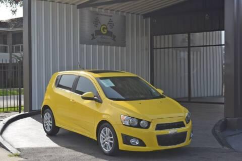 2016 Chevrolet Sonic for sale at G MOTORS in Houston TX