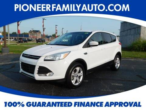 2015 Ford Escape for sale at Pioneer Family Preowned Autos in Williamstown WV