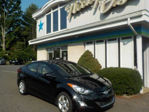 2013 Hyundai Elantra for sale at Nicky D's in Easthampton MA