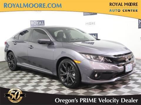 2020 Honda Civic for sale at Royal Moore Custom Finance in Hillsboro OR