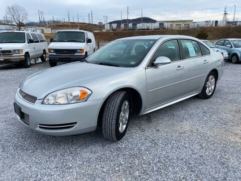 2012 Chevrolet Impala for sale at Bailey's Auto Sales in Cloverdale VA