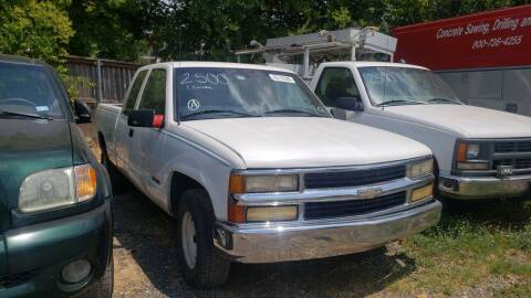 1997 Chevrolet C/K 1500 Series for sale at C.J. AUTO SALES llc. in San Antonio TX