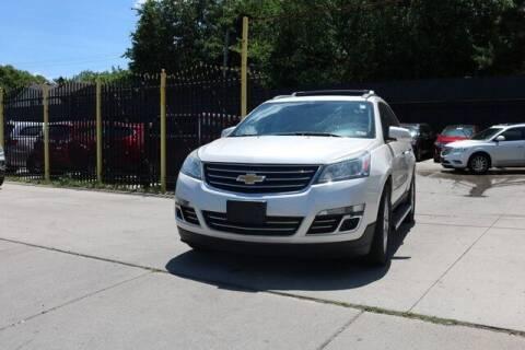 2013 Chevrolet Traverse for sale at F & M AUTO SALES in Detroit MI