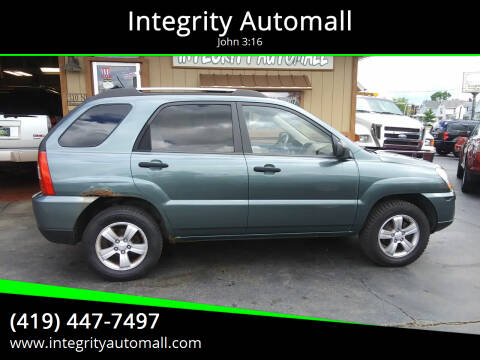 2009 Kia Sportage for sale at Integrity Automall in Tiffin OH