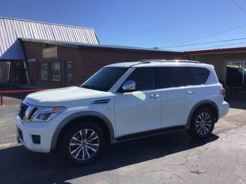 2017 Nissan Armada for sale at Roy's Auto Plaza 2 in Amarillo TX