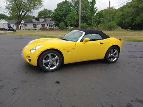2008 Pontiac Solstice for sale at Depue Auto Sales Inc in Paw Paw MI