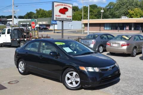 2008 Honda Civic for sale at GLADSTONE AUTO SALES    GUARANTEED CREDIT APPROVAL in Gladstone MO