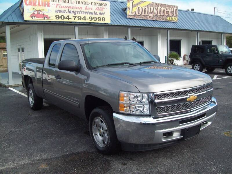 2012 Chevrolet Silverado 1500 for sale at LONGSTREET AUTO in St Augustine FL