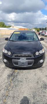 2012 Chevrolet Sonic for sale at Chicago Auto Exchange in South Chicago Heights IL