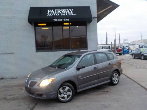 2007 Pontiac Vibe for sale at FAIRWAY AUTO SALES, INC. in Melrose Park IL