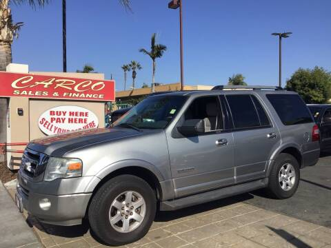 2008 Ford Expedition for sale at CARCO SALES & FINANCE in Chula Vista CA