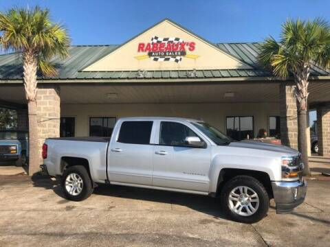 2017 Chevrolet Silverado 1500 for sale at Rabeaux's Auto Sales in Lafayette LA