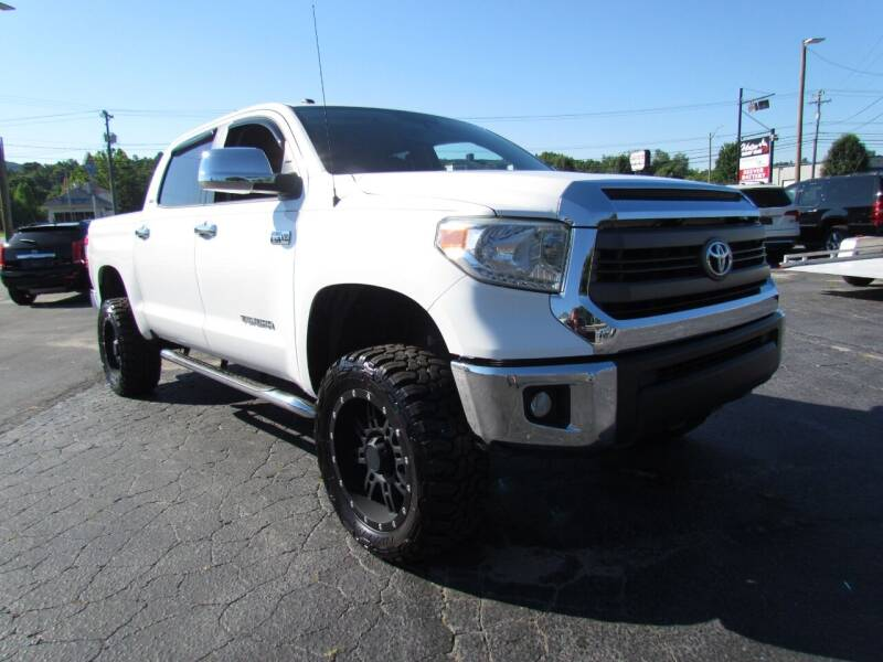 2014 Toyota Tundra for sale at Hibriten Auto Mart in Lenoir NC