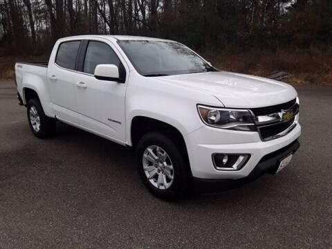 2018 Chevrolet Colorado for sale at Strosnider Chevrolet in Hopewell VA