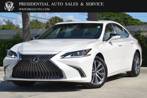 2019 Lexus ES 350 for sale at Presidential Auto  Sales & Service in Delray Beach FL