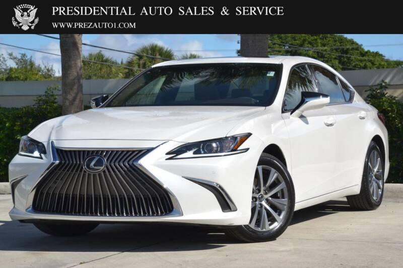 2019 Lexus ES 350 for sale at Presidential Auto  Sales & Service in Delray Beach FL