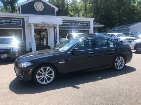 2014 BMW 5 Series for sale at Ocean State Auto Sales in Johnston RI
