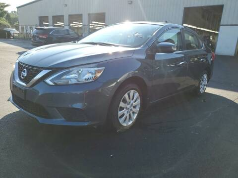 2017 Nissan Sentra for sale at Riverside Auto Sales & Service in Portland ME