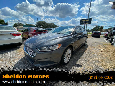 2015 Ford Fusion Hybrid for sale at Sheldon Motors in Tampa FL