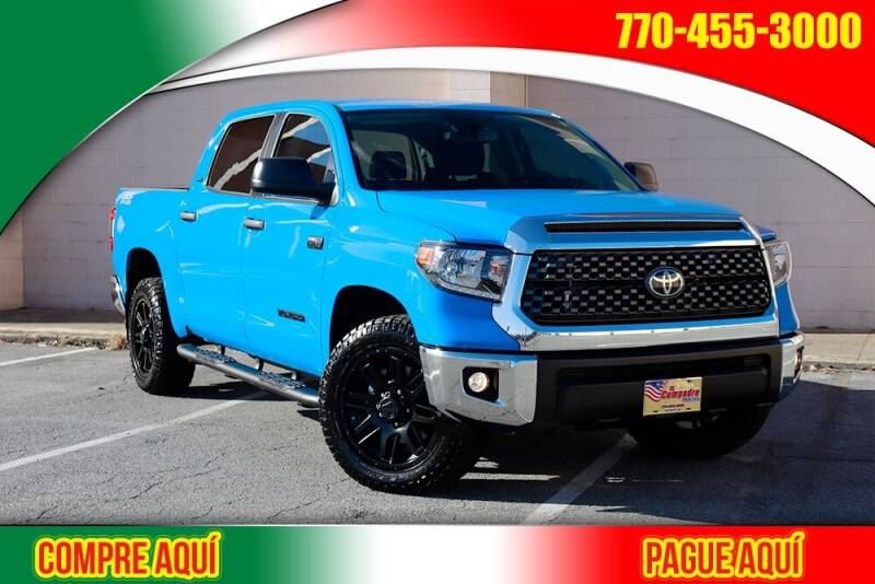2020 Toyota Tundra for sale at El Compadre Trucks in Doraville GA
