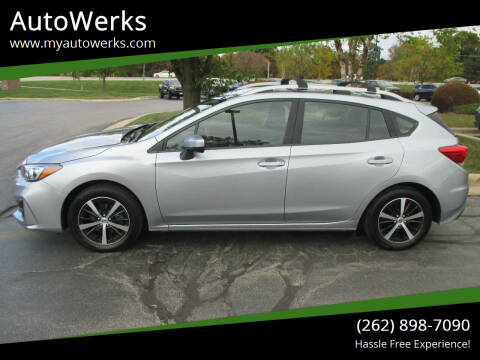 2019 Subaru Impreza for sale at AutoWerks in Sturtevant WI