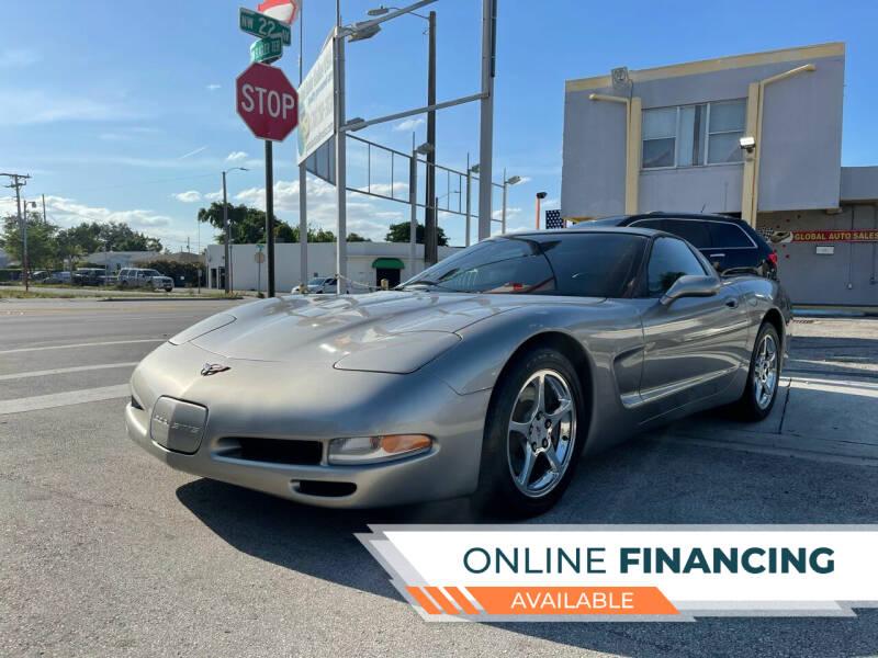 2001 Chevrolet Corvette for sale at Global Auto Sales USA in Miami FL