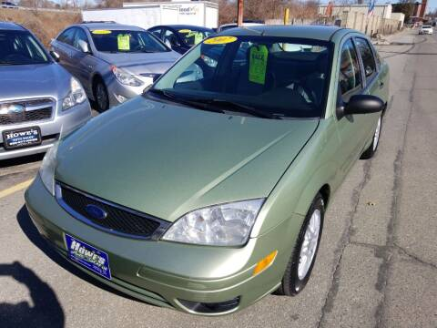 2007 Ford Focus for sale at Howe's Auto Sales in Lowell MA
