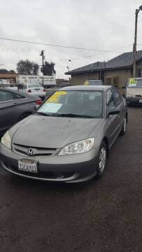 2005 Honda Civic for sale at Premier Auto Sales in Modesto CA