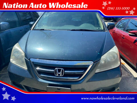 2005 Honda Odyssey for sale at Nation Auto Wholesale in Cleveland OH
