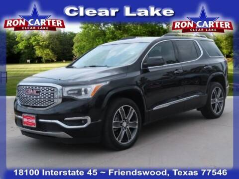 2017 GMC Acadia for sale at Ron Carter  Clear Lake Used Cars in Houston TX