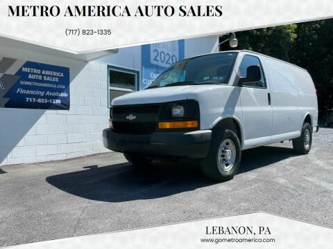 2009 Chevrolet Express Cargo for sale at METRO AMERICA AUTO SALES of Lebanon in Lebanon PA