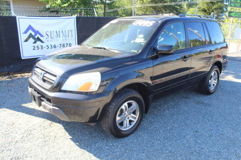 2004 Honda Pilot for sale at Summit Auto Sales in Puyallup WA