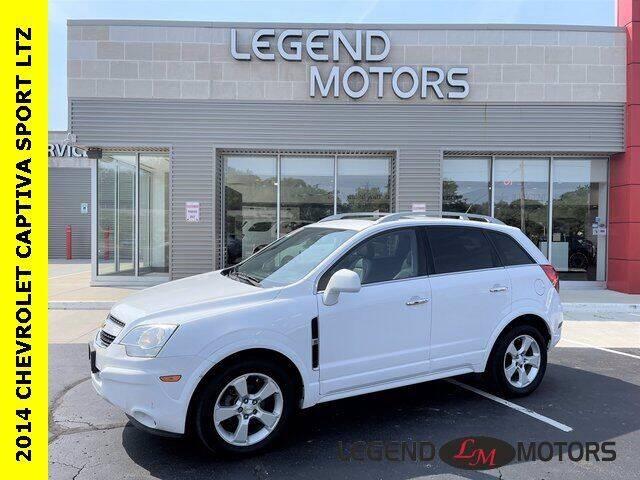 2014 Chevrolet Captiva Sport for sale at Legend Motors of Ferndale - Legend Motors of Waterford in Waterford MI