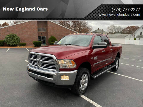 2014 RAM Ram Pickup 2500 for sale at New England Cars in Attleboro MA
