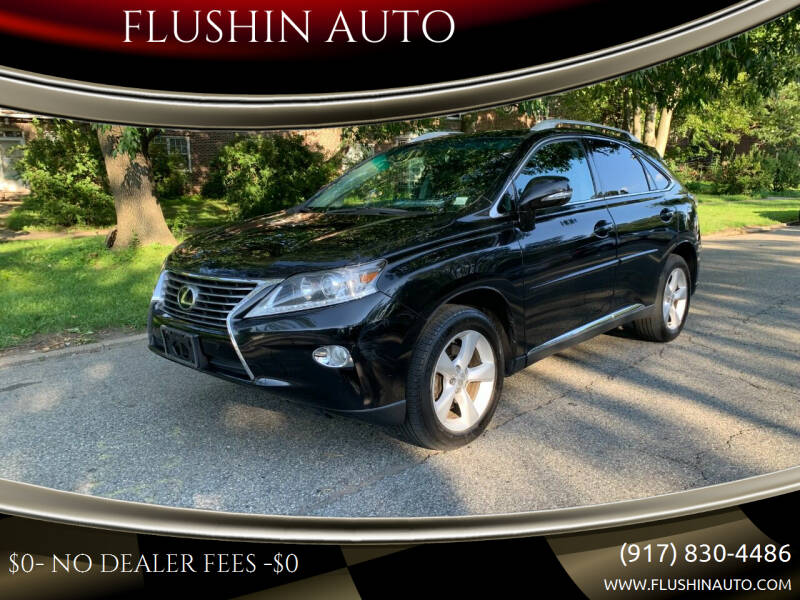 2014 Lexus RX 350 for sale at FLUSHIN AUTO in Flushing NY