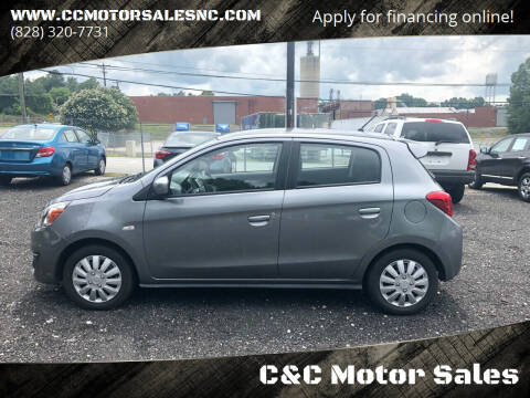 2017 Mitsubishi Mirage for sale at C&C Motor Sales LLC in Hudson NC
