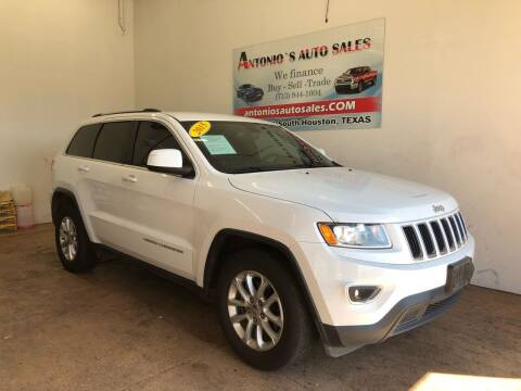 2015 Jeep Grand Cherokee for sale at Antonio's Auto Sales - Antonio`s  3001 in Pasadena TX