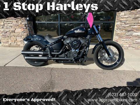 2020 Harley Davidson Street Bob for sale at 1 Stop Harleys in Peoria AZ