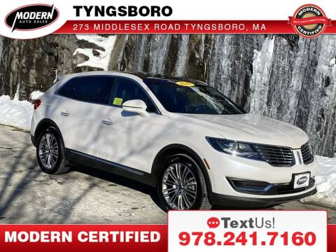 2017 Lincoln MKX for sale at Modern Auto Sales in Tyngsboro MA