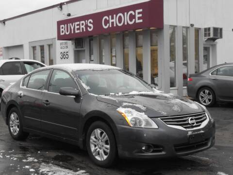 2012 Nissan Altima for sale at Buyers Choice Auto Sales in Bedford OH