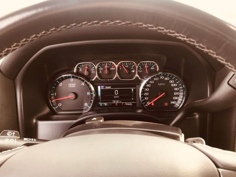 2017 Chevrolet Silverado 1500 4x4 LT 4dr Crew Cab 5.8 ft. SB - Morristown TN