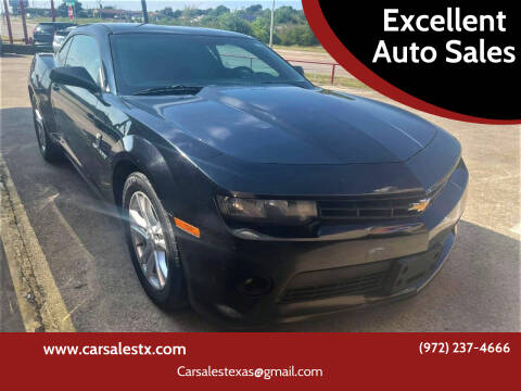 2014 Chevrolet Camaro for sale at Excellent Auto Sales in Grand Prairie TX