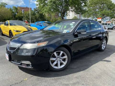 2013 Acura TL for sale at Sonias Auto Sales in Worcester MA