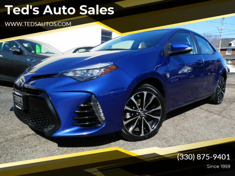 2018 Toyota Corolla for sale at Ted's Auto Sales in Louisville OH